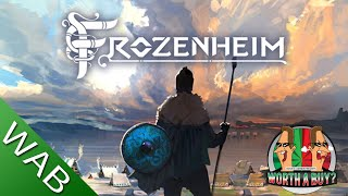 Frozenheim Review (early access) - Viking City Builder (Video Game Video Review)