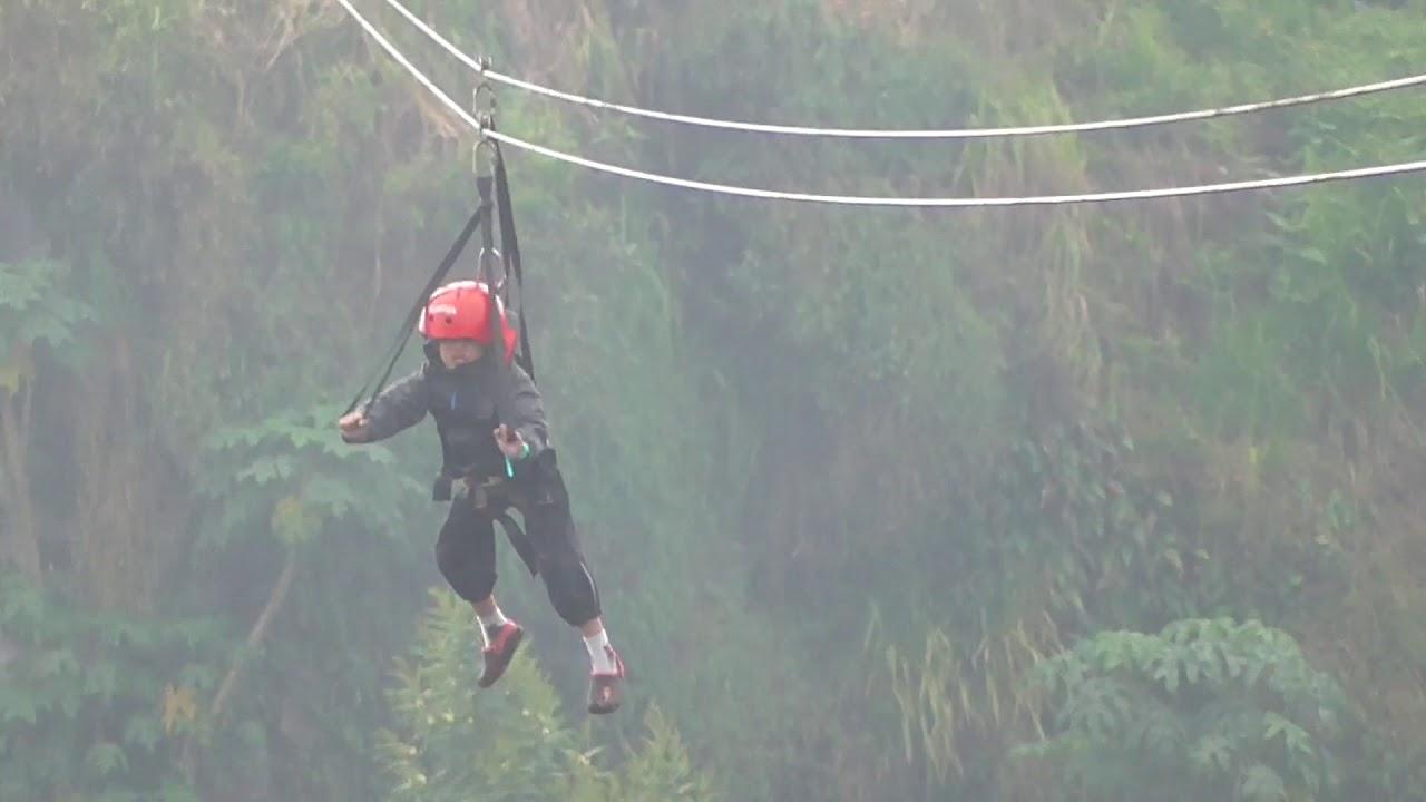 Flying Fox Tertinggi Di Dieng Plateau Theater Tak Kenal