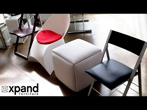 Demos of Best Hidden Seats from around the world -  Expand Furniture