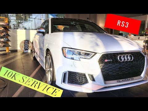 Overview of the Audi RS3 Audi S3 10K Service