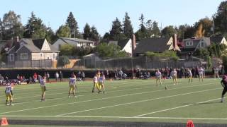 o dea vs ballard high school freshmen football game 2015 oct 03
