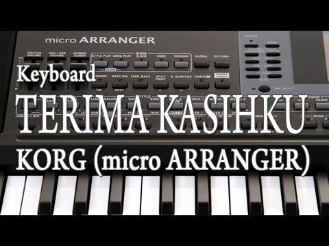 Keyboard TERIMA KASIHKU - KORG (micro ARRANGER)