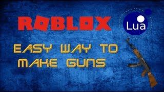 [obsoleto] Roblox script | Come fare una pistola di fusione Turbo