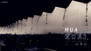 MƯA HOÀI VẬY - F BAND [ LYRIC VIDEO]