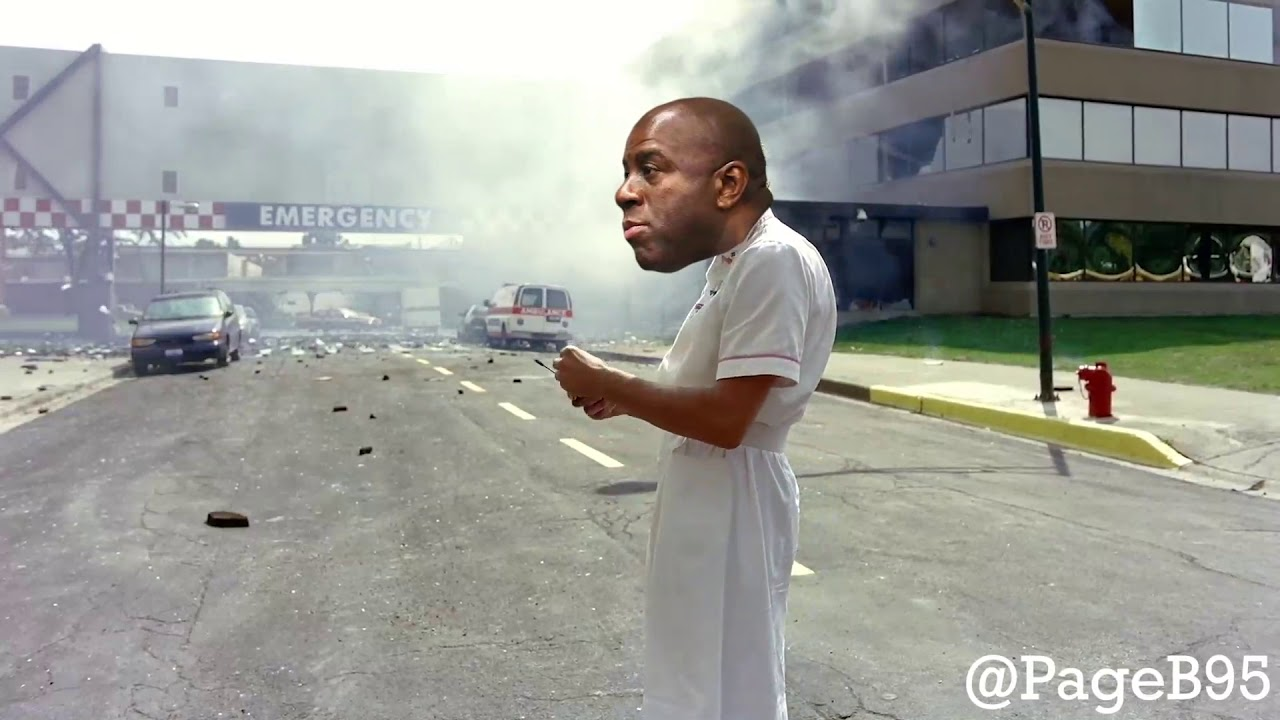Magic Johnson destroys the Los Angeles Lakers and Rob Pelinka