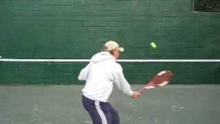 Tennis Backboard Drills