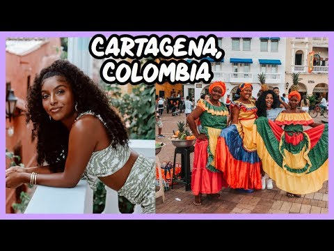 CARTAGENA, COLOMBIA   TRAVEL VLOG!