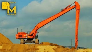 EXCAVATOR WITH EXTREME BOOM ++ HITACHI ZAXIS 600 LONG REACH