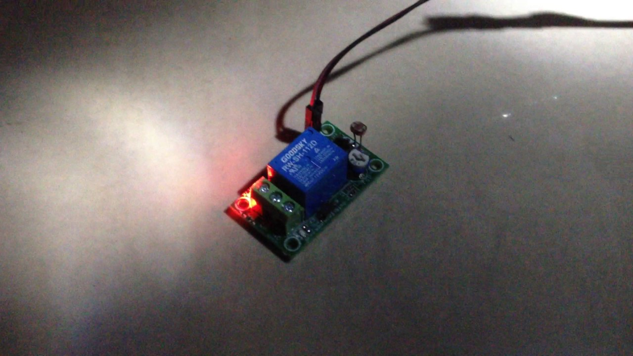 Light Sensitive Switch Youtube Activated Relay With 555 Ic