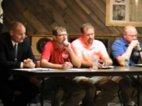 Meet the Sheriff Candidates Hillman Minnesota July 16 2014