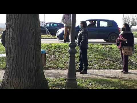 Vídeo | Diez positivos en los 1712 test realizados en Sahagún