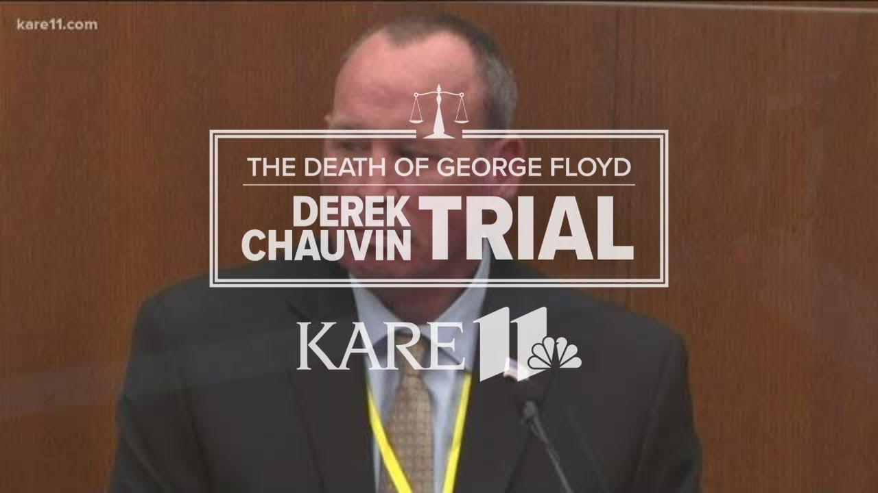 Derek Chauvin trial: Retired officer Scott Creighton testifies on George Floyd's 2019 arrest