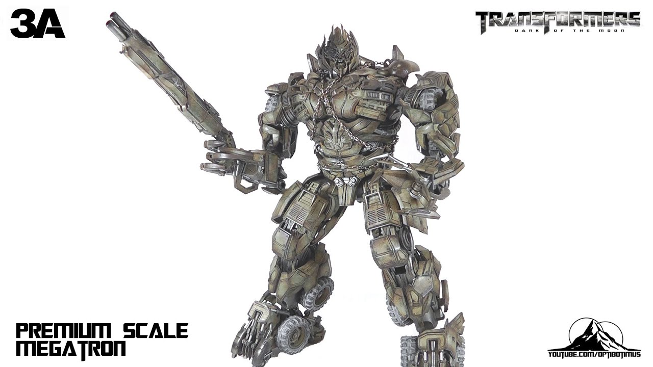ThreeA 3A Transformers: Dark of the Moon MEGATRON Video ...