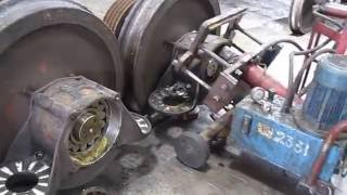 Bearing pull out from Axle of ICF Bogie