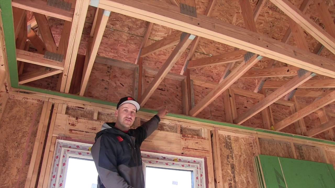 Mission Cliffs Passive House Roof Truss Detail Youtube
