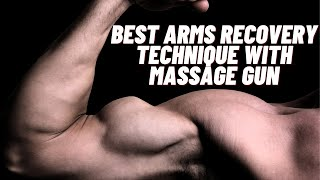 How to use your massage gun - Arms Recovery Featuring Achedaway Pro