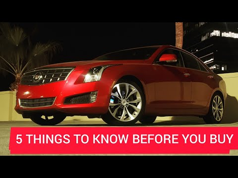 5 Things To Know Before You Buy A Cadillac Ats