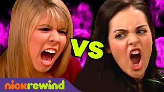 Sam vs. Jade: Who Would Win in a Fight? 😈 Most Savage Moments | Victorious + iCarly