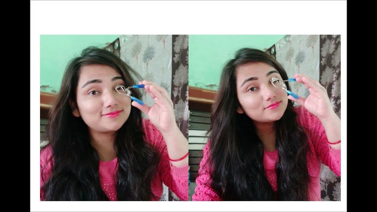 How to use eyelash curler in Hindi  Full tutorial ...