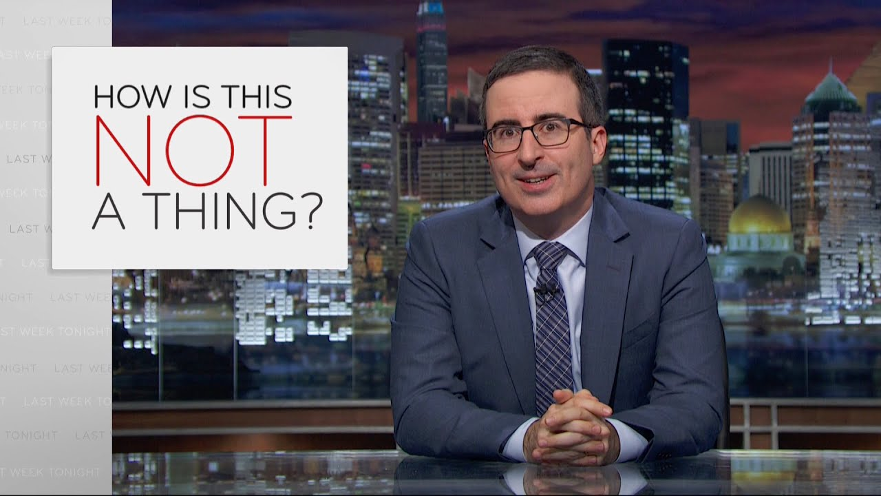 How is this not a thing web exclusive last week tonight with john
