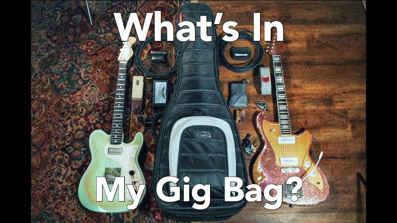 f0d23faf43 Whats In My Gig Bag? Mono M80 Dual Electric Case Review - YouTube