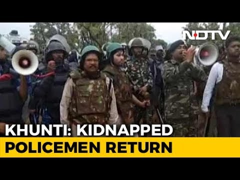 Jharkhand Cops Kidnapped After Police Raids Over Activists' Rape Set Free from YouTube · Duration:  2 minutes 29 seconds