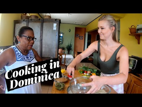 FOOD IN DOMINICA - Caribbean Cooking Class!