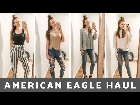 Spring 2020 American Eagle Outfitters Try- On Haul