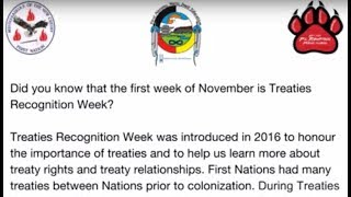 P.L. Robertson PS honours Treaties Recognition Week 2017