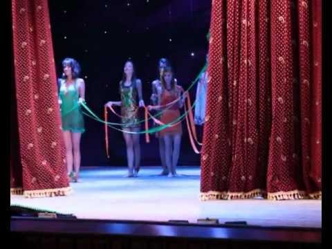 выход 1,2 конкурс красоты Miss Student 2011 Kirovograd