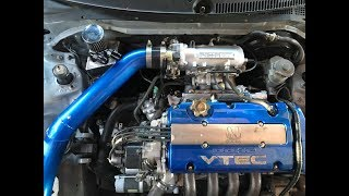 H22 CRX Gets a Catch Can !