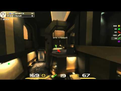 QuakeCon 2011 - Groups Round 3 - Spart1e vs cypher - Democast