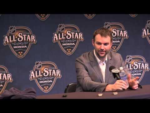 John Scott: NHL All Star post game