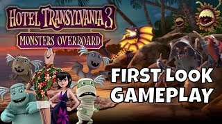 Hotel Transylvania 3 Monsters Overboard First Look Gameplay PC/SWITCH/XBOXONE/PS4