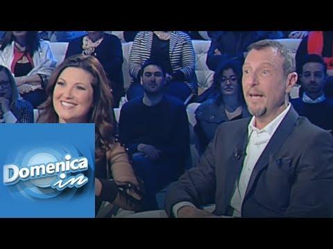 La storia d'amore di Amadeus e Giovanna - Domenica In 13/01/2019