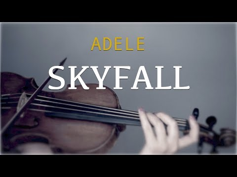 Adele  Skyfall for violin and piano