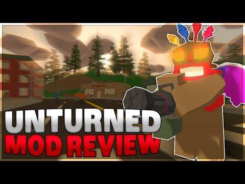 BIG MOD REVIEW (Unturned)