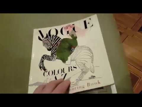 Vogue Colors A To Z Fashion Coloring Book In Color