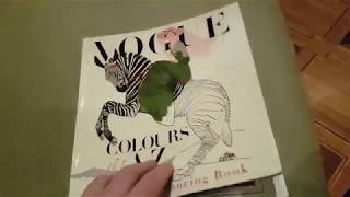Completed Vogue Colors A to Z: A Fashion Coloring Book