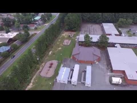 Drone Over Virginia:Maude Trevvett Elementary School