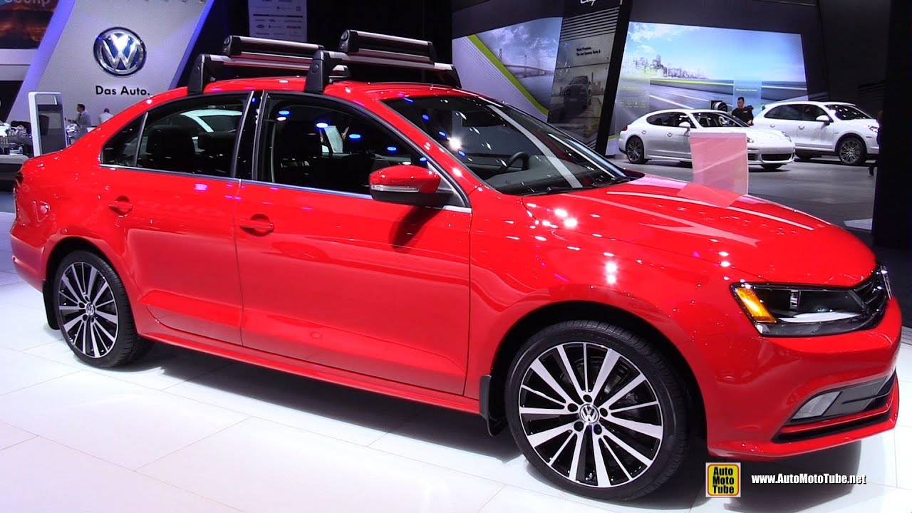 2015 Volkswagen Jetta TDI SEL - Exterior and Interior Walkaround - 2015 Detroit Auto Show - YouTube