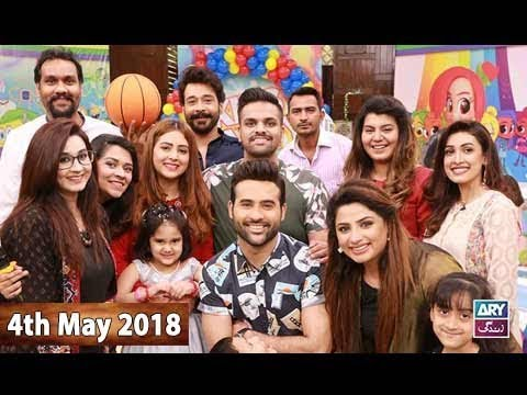 Salam Zindagi With Faysal Qureshi - 4th May 2018  - ARY Zindagi