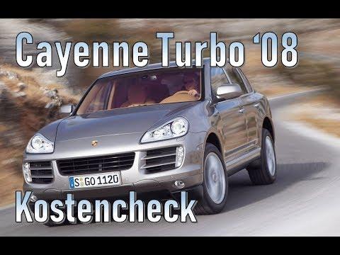 Porsche Cayenne Turbo 2008 Unterhaltskosten Gebrauchtwagen