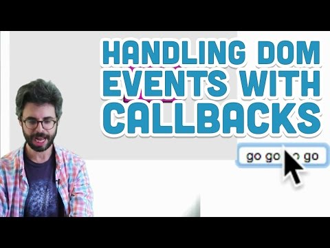 8.4: Handling DOM Events With Callbacks - P5.js Tutorial