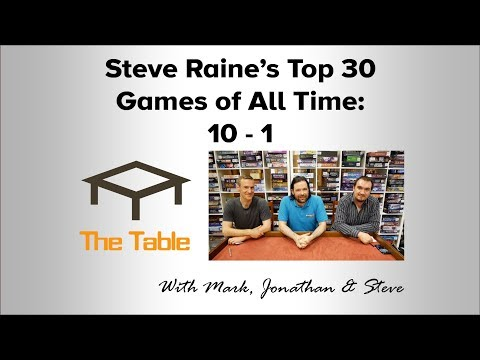 Steve Raines Top 30 Games of All Time: 10 - 1