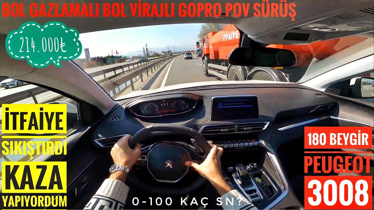 DRAG & ROLLING YARIŞI | PSA Dizel Savaşı | Peugeot 3008 vs Citroen C5 Aircross vs Opel Grandland X
