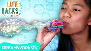DIY Bubble Blower + More Soap Hacks | LIFE HACKS FOR KIDS