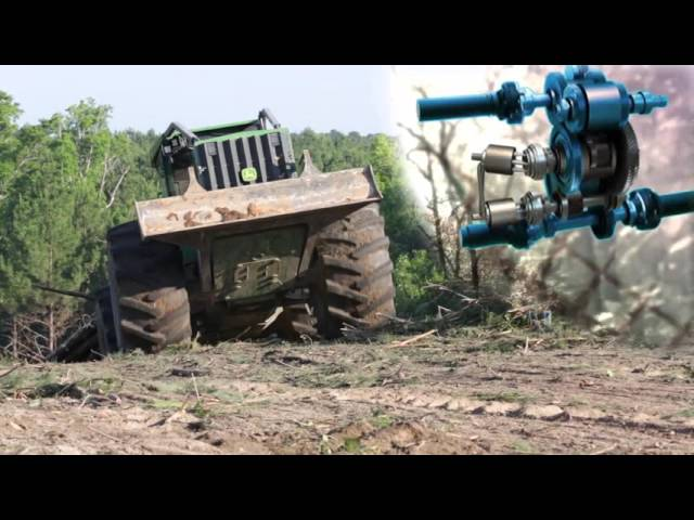 cable and grapple skidders from john deere