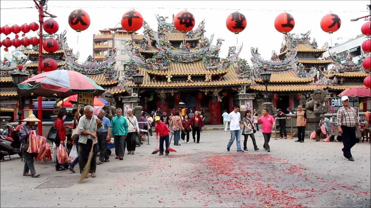 Yunlin Taiwan  City pictures : Taiwan Beigang Heavenly Temple in Yunlin County YouTube