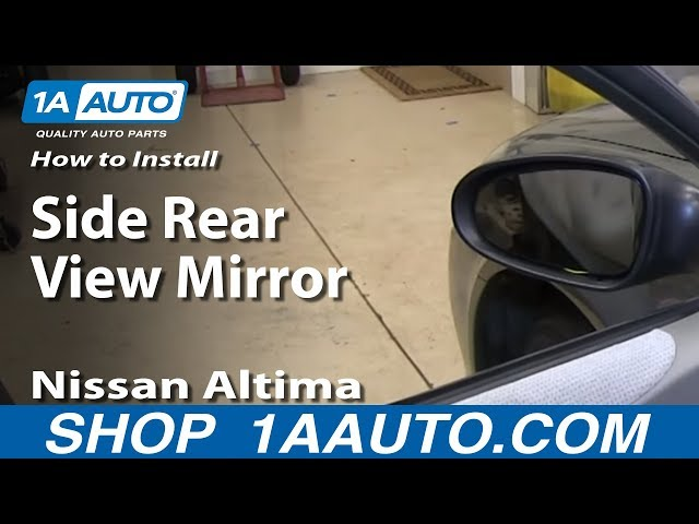 [DIAGRAM_34OR]  How To Install Replace Remove Side Rear View Mirror 2002-06 Nissan Altima |  1A Auto | Power Mirrors Wiring Diagram For 06 Nissan Altima |  | 1A Auto